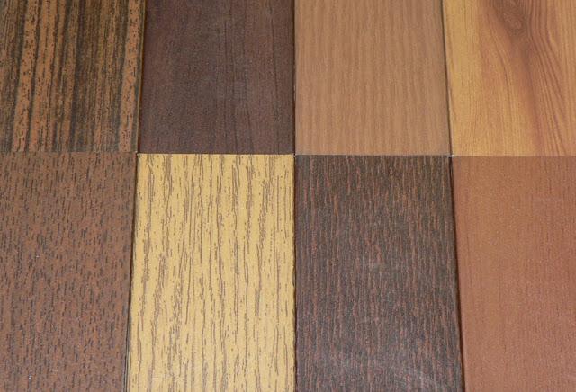Materiales utilizados en el mobiliario