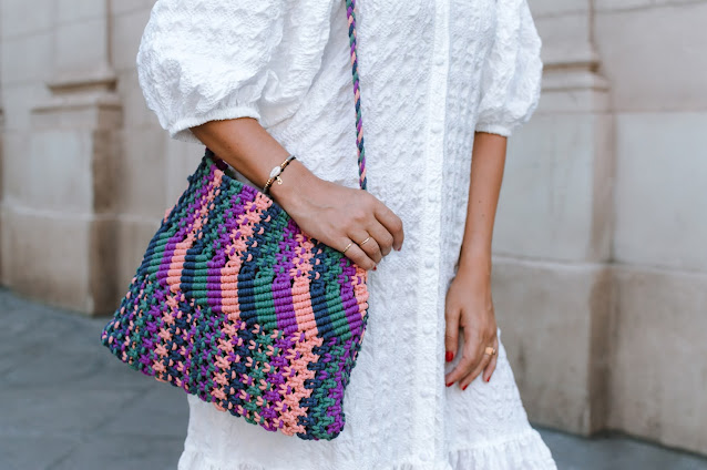 Fashion South con bolso multicolor de Nice Things