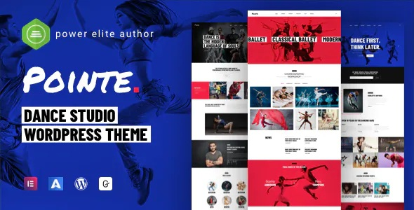 Best Dance Studio Website Theme