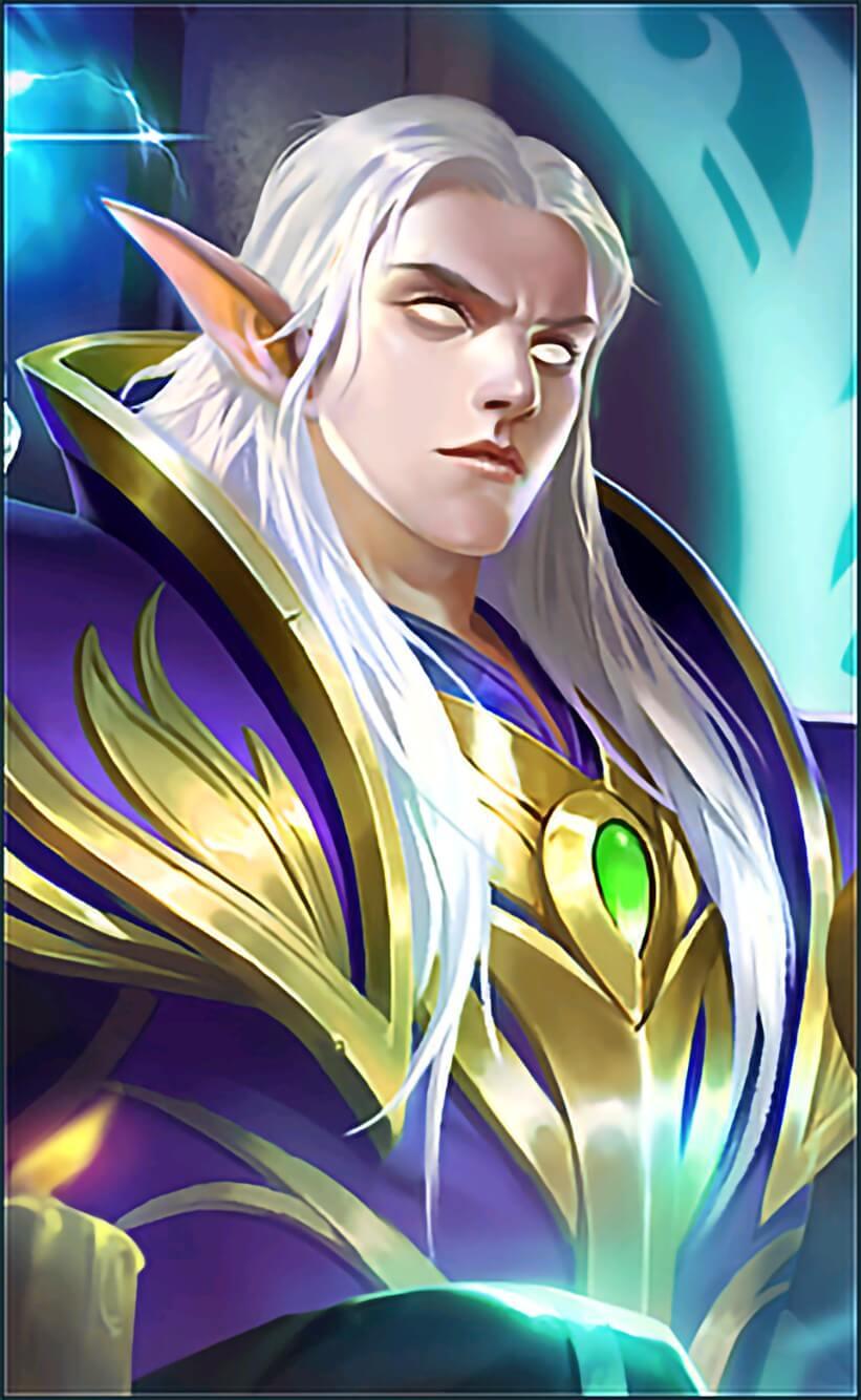 Wallpaper Estes Moon Elf King Skin Mobile Legends HD for Mobile