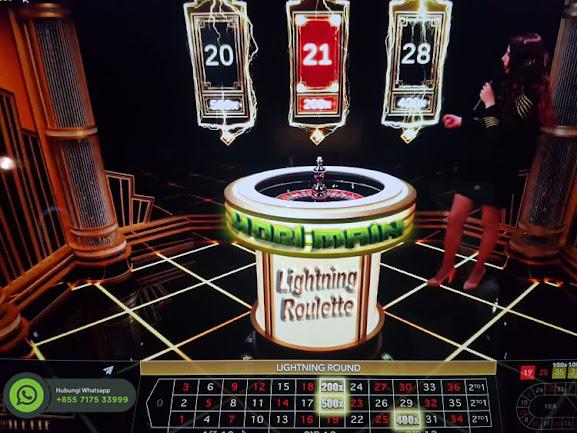fitur bonus lightning roulette