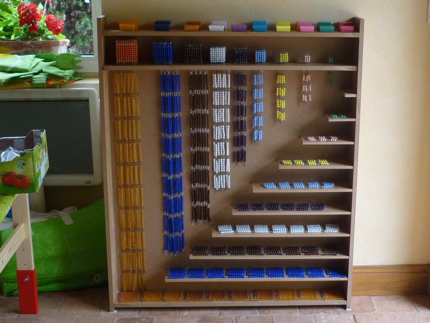 Montessori avec les 6 12 ans la folie des cha nes for Table en chaine