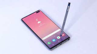 Samsung Galaxy Note 10 Smartphone eliminates physical buttons and headphone jack