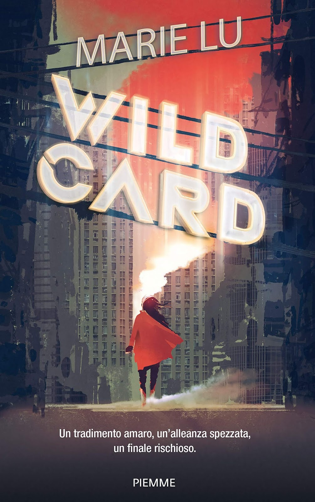 libro WildCard di Marie Lu