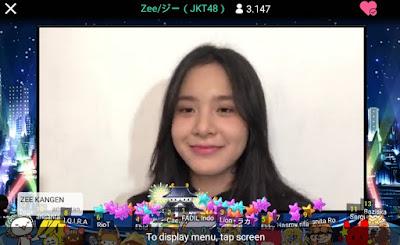 showroom member jkt48 azizi asadel zee