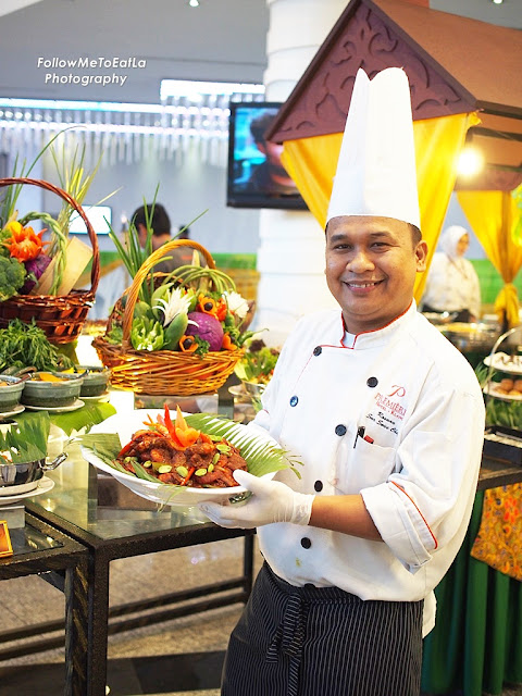 Nice Pose Of Sous Chef Rosnan Of Premiere Hotel, Klang