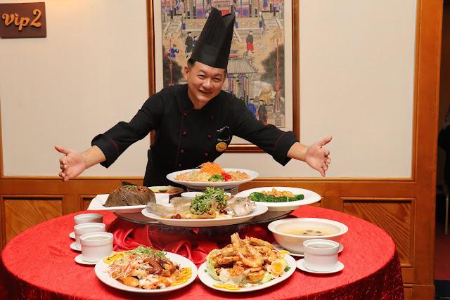 CHINESE NEW YEAR 2019 @ TUNG YUEN CHINESE RESTAURANT Chef Patrick Ng