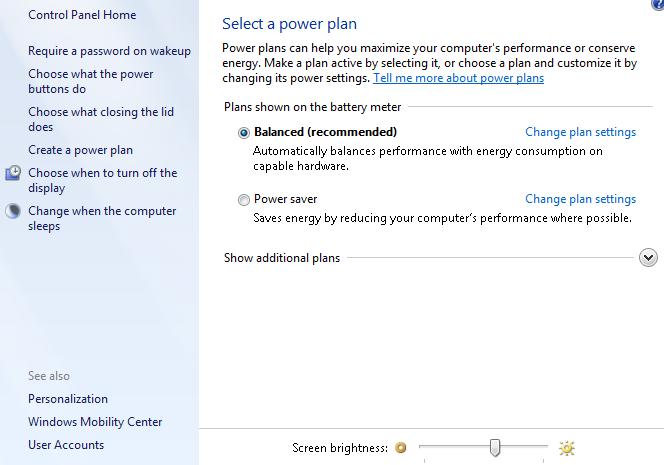 baterai laptop cepat habis