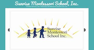 Sunrise Montessori School: Open House - Preschool & Kindergarten - Jan 23