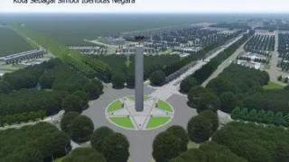 Begini Desain Konsep Ibu Kota Baru Republik Indonesia