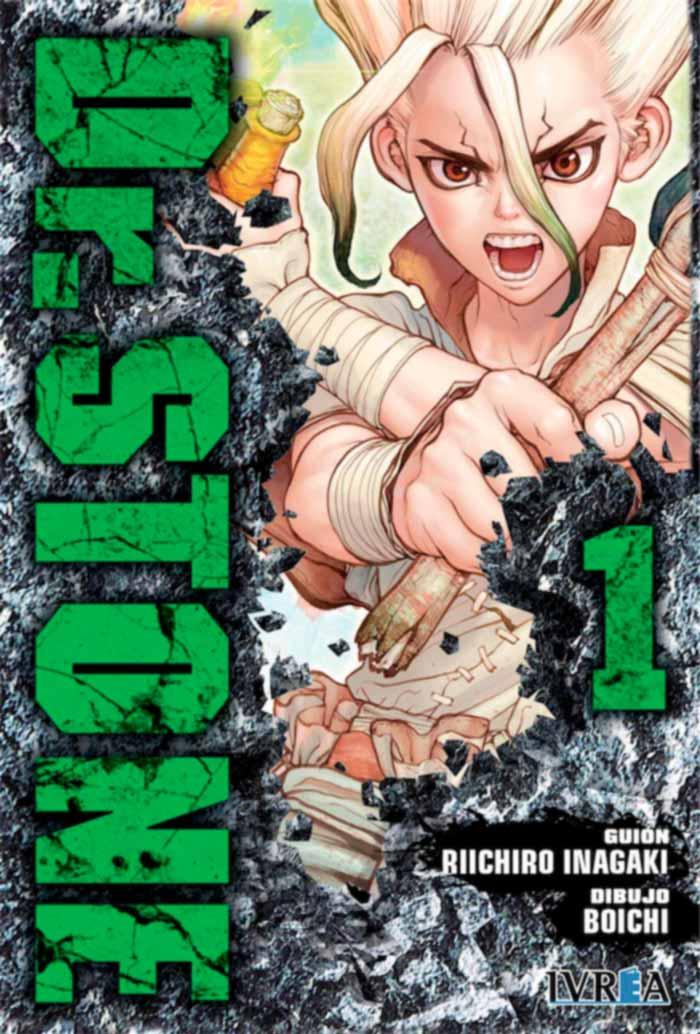 Dr. Stone manga (Ivrea)