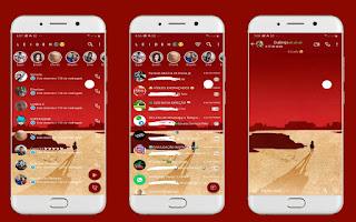 Landscape 8 Theme For YOWhatsApp & Fouad WhatsApp By Leidiane