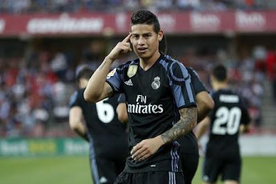 Inter gặp khó trong thương vụ James Rodriguez