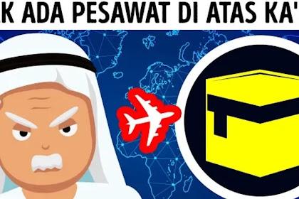 Mengapa Pesawat Tidak Melintas Diatas Ka'bah, Begini Penjelasannya
