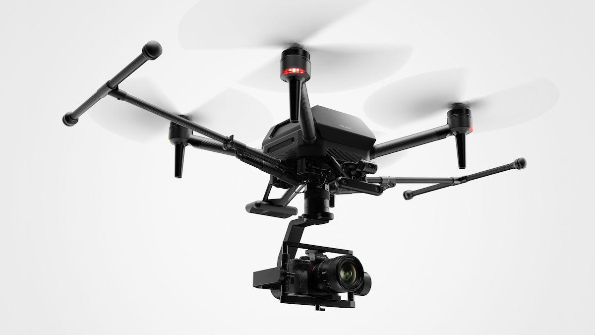 Дрон Sony Airpeak с камерой