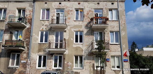 kamienica balkon Warszawa Warsaw Praga Południe ulica zabudowa architektura architecture przedwojenne Gocławek