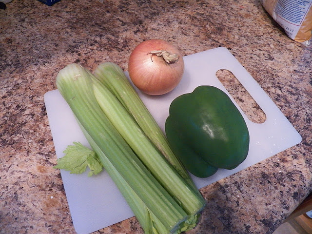 Veggies for gumbo