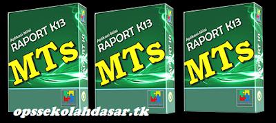 Aplikasi RAPORT dan NILAI Kurikulum 2013 SMP/Mts PermenDikbud 23 th 2016