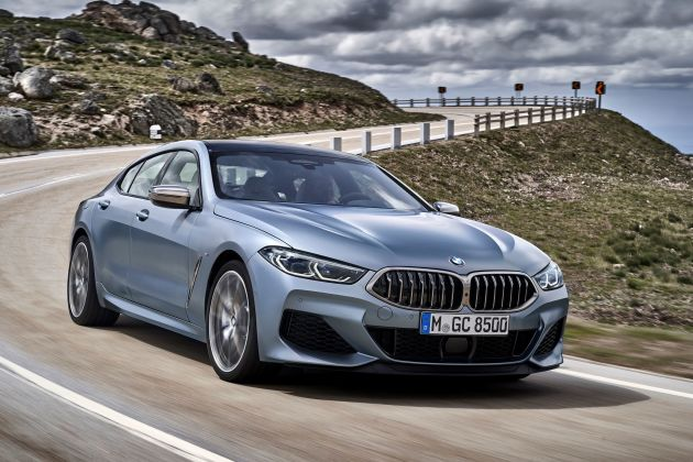 BMW debuts 4-door, 8-Series Gran Coupe with an entry price around $86,000..