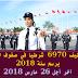 مباريات توظيف 6970 شرطيا في صفوف الأمن الوطني برسم سنة 2018، آخر أجل 26 مارس 2018