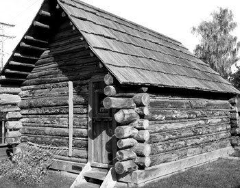 Original cabin of Skagway, AK