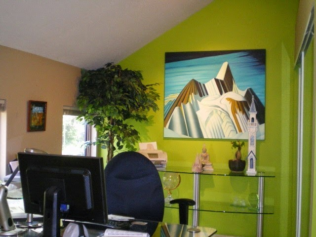 wall color for office feng shui
