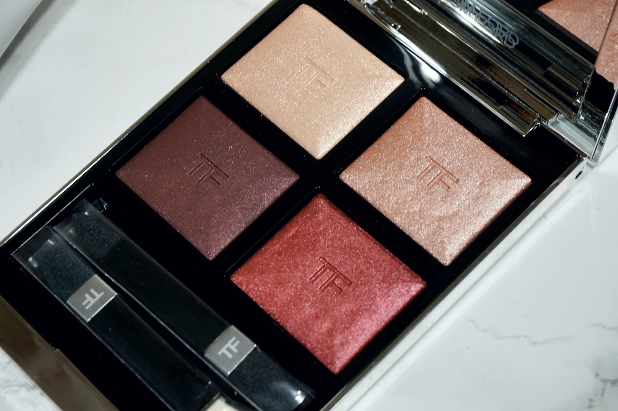Tom Ford Extreme Eye Color Quad in Mercurial Review and Swatches