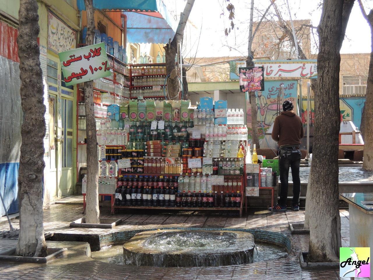 rose water store kashan iran