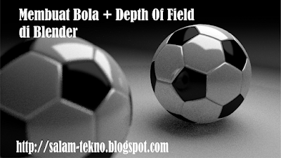 Tutorial blender bahasa indonesia modelling bola