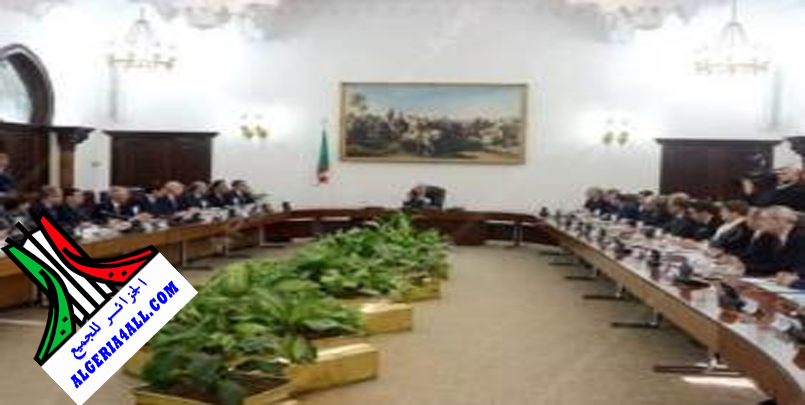 إجتماع مجلس الوزراء اليوم برئاسة تبون