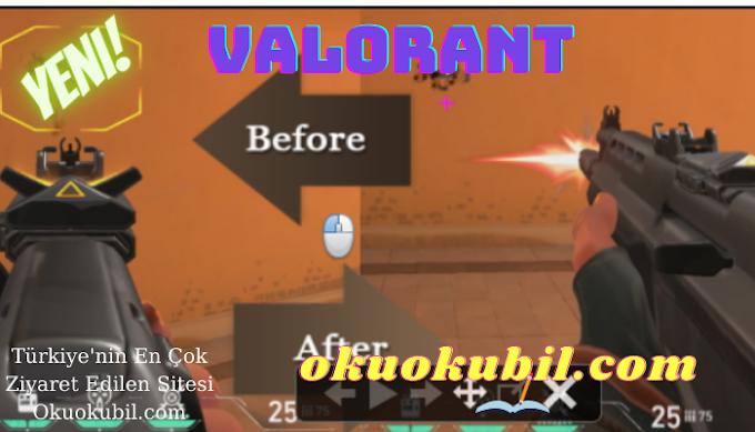 Valorant Logitech v2.0 Hızlı Seçim Quick-Buy Adjustable-Recoil Hileli İndir