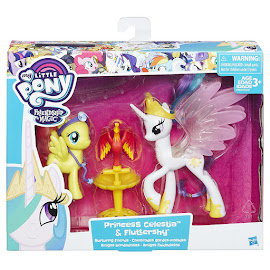 MLP Nurturing Friends Fluttershy Brushable Pony