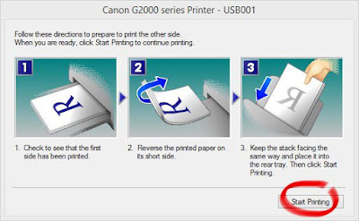 how to print front and back on word