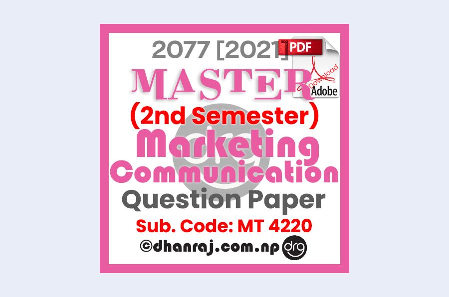 marketing-communication-mt4220-question-paper-internal-examination-2077-2021-shephard-college