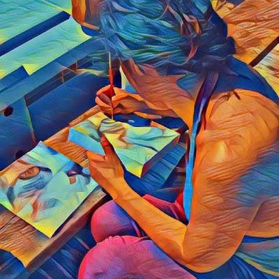 Samantha Abis pittrice bysa