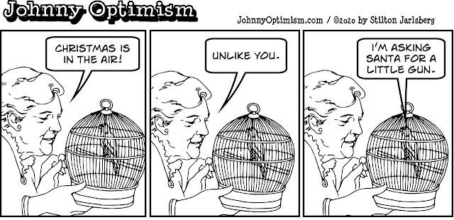 johnny optimism, medical, humor, sick, jokes, boy, wheelchair, doctors, hospital, stilton jarlsberg, love bird, christmas, holiday
