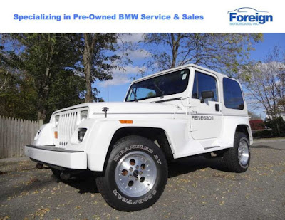 1993 Jeep Wrangler, Bright White, Foreign Motorcars Inc, Quincy Massachusetts, 02169, For Sale