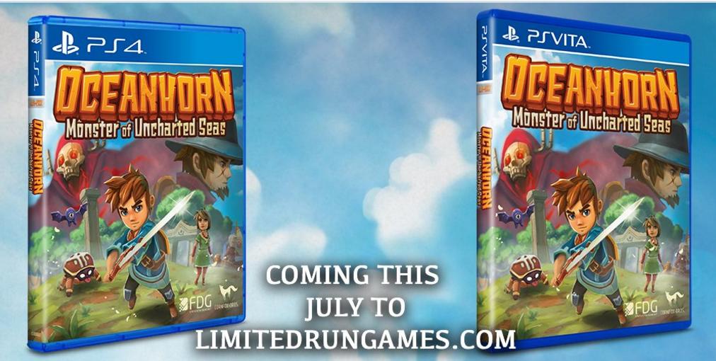 Oceanhorn llegará en físico a PS4 y Vita
