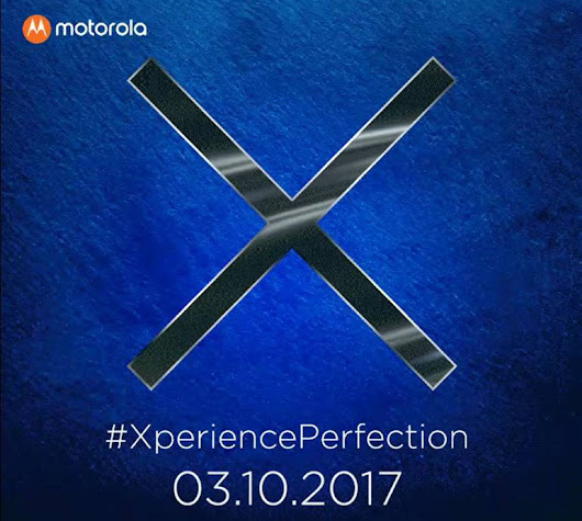 Moto X4 with Dual Rear Cameras Launching in India on October 3