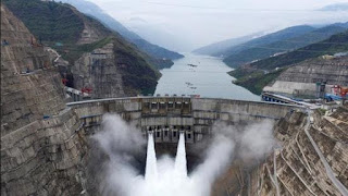 China operates the largest Baihetan hydroelectric project