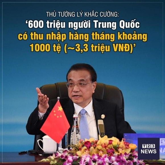 """Thủ tướng Lý Khắc Cường làm thức tỉnh """"giấc mộng Trung Quốc"""" của Tập Cận Bình"""