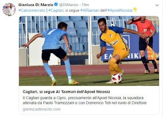 Ενδιαφέρον της Ιταλικής Cagliari για τον Al Tamari