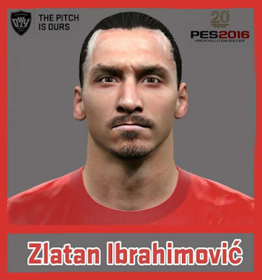 PES 2016 Zlatan Ibrahimovic New Face