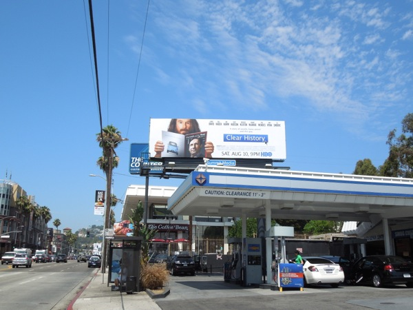 Clear History billboard