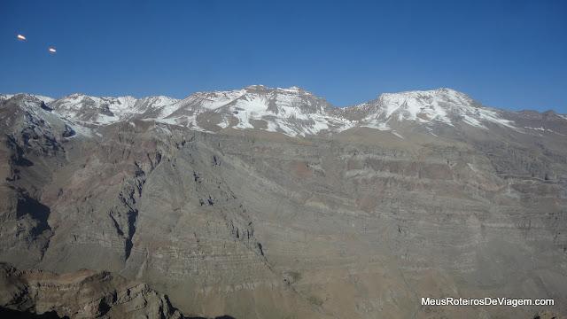 Montanhas do Valle Nevado