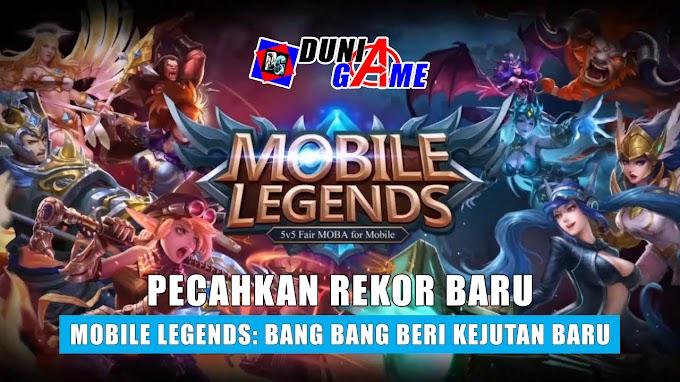 Pecahkan Rekor Baru, Mobile Legends: Bang Bang Beri Kejutan Baru