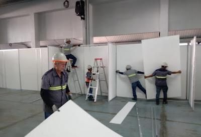 Coperex colaboró con la construcción de Hospital Temporal