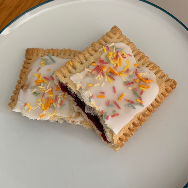 Cherry pie pocket - similar to a Pop Tart