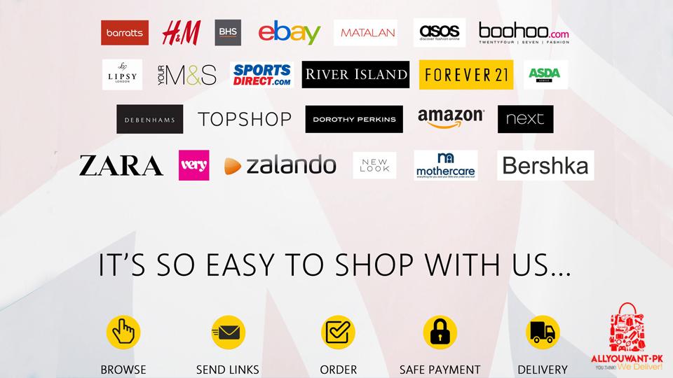 online shopping brands