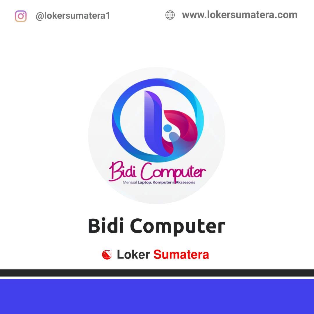 Lowongan Kerja Pekanbaru: Bidi Computer November 2020
